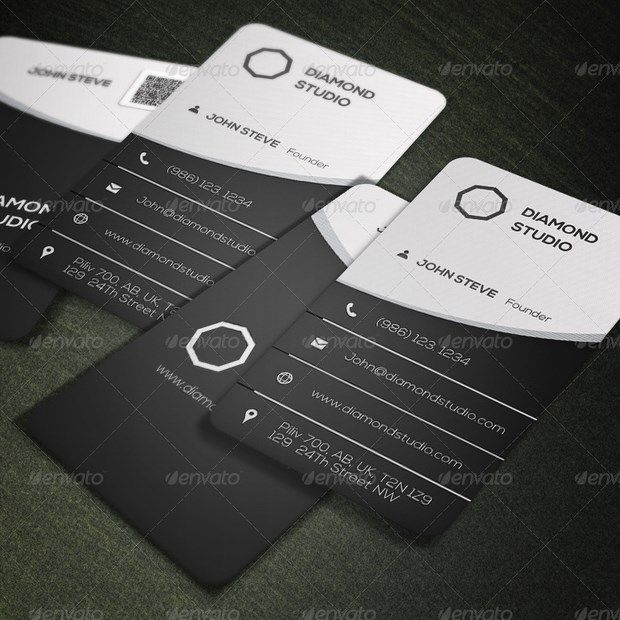 creative business card design inspiration 18jpg 620 - Graphic Design Business Ideas