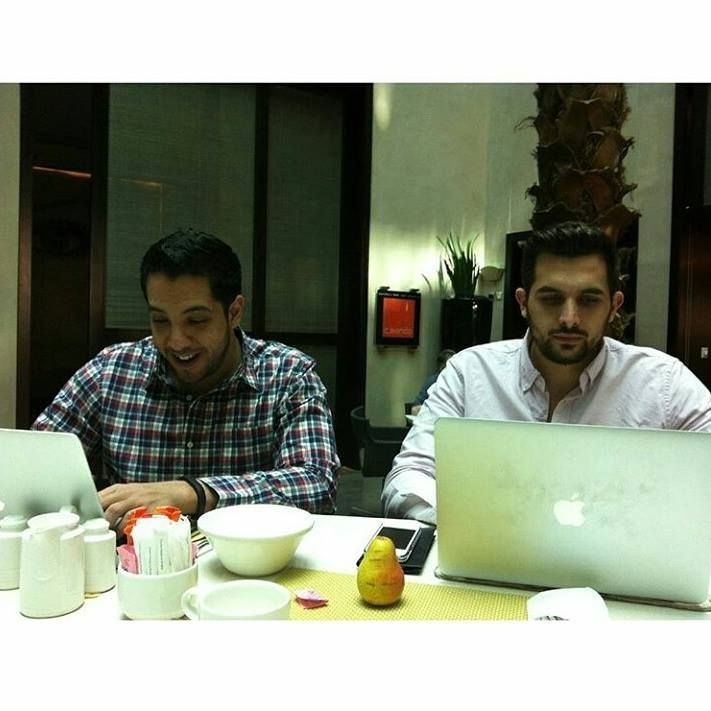 When developing gets real!  #buttercloudteam #dubai #workhard #dev #tech #startup