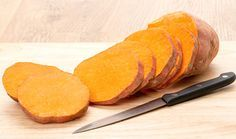 Caramelized Sweet Potato Coins - The Family Cooks & The Family Dinner by Laurie David