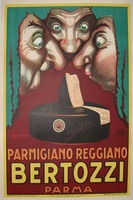 Bertozzi by Luciano Achille Mauzan, 1930. Vintage food poster http://www.postermuseum.com/