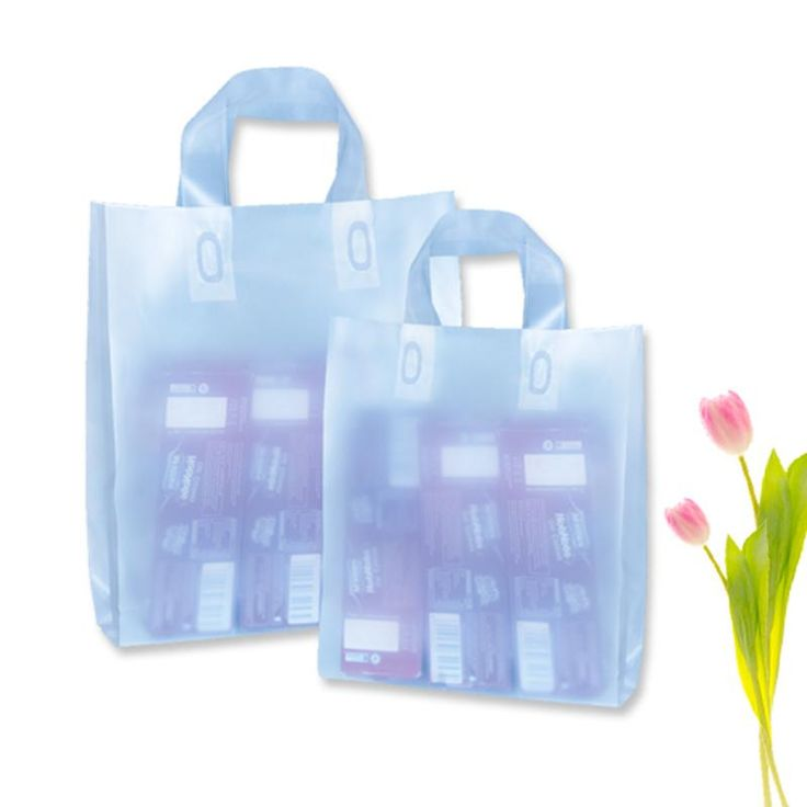 Shop 75 Micron 15 x 18 Frosted Carry Bags for exhibitions and conferences. Stock Available at Packing Supply Vadodara, India.