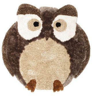 Owl carpet 130x127 cm from CarpetVista.com