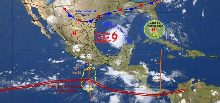 Pronóstico del clima en México para jueves 24 de agosto - e-oaxaca Periódico Digital de Oaxaca
