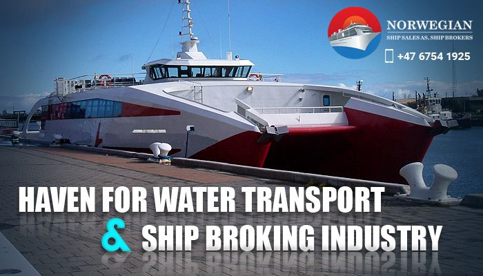 The water transport industry of Norway has a unique role in its economy, for not only it sustains a large populace through financial activity but adds to the country's GDP by exporting assets as well.