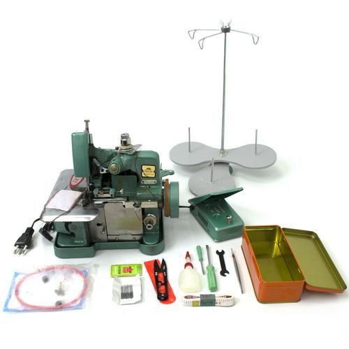 Máquina De Costura Overlock (Overloque) Semi-Industrial Portátil Modelo Gn1-6d