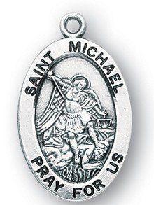 40 best st michael medals images on pinterest saint michael san st michael sterling medal aloadofball Images