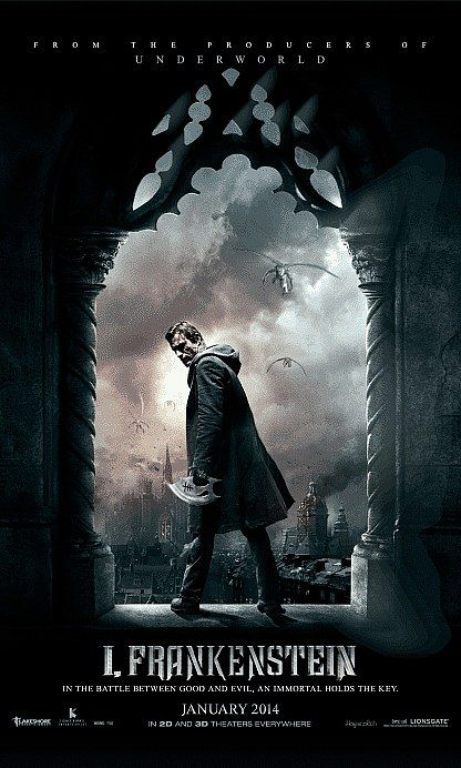 I Frankenstein movie poster 2014