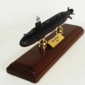 Toys and Models MBSSC Seawolf Class Submarine, 1/350 scale model