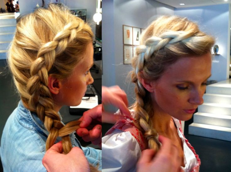 Hair for Dirndl