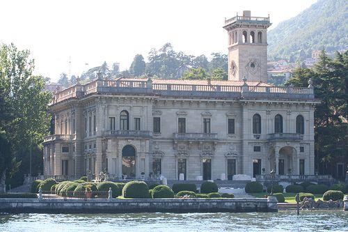 The Villa Erba on Lake Como. Used as the Nightfox's home in Ocean's Twelve.