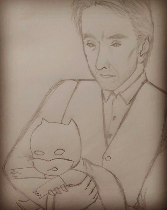 Bruce, Happy Birthday~^^ Alf: Master Wayne, You need to go to bed now. #batman #alf #brucewayne #birthday #jeremyirons