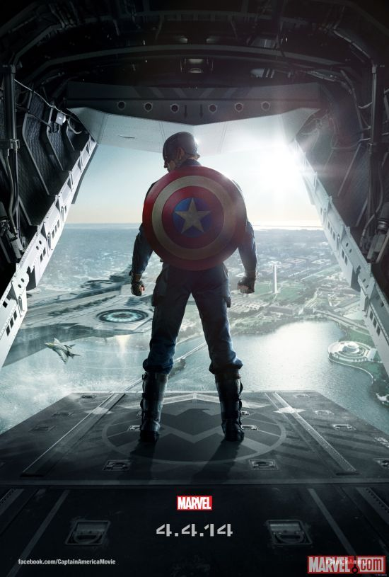 Captain America: The Winter Soldier, Captain America Teams Up With Black Widow & the Falcon in Marvel's Next Film