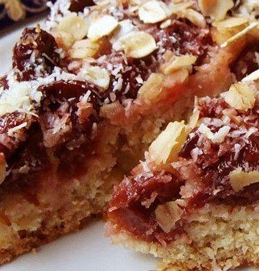 Овсяный пирог с вишней рецепт – датская кухня: выпечка и десерты. «Афиша-Еда»