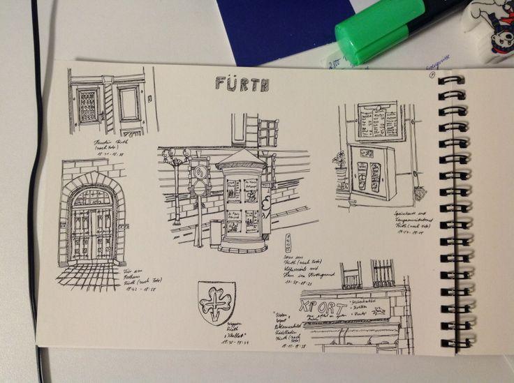 Another sketch from Fürth, Baveria