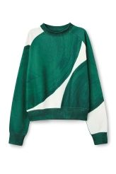 <p>The Wave Printed Sweatshirt made from a soft jersey fabric and features…