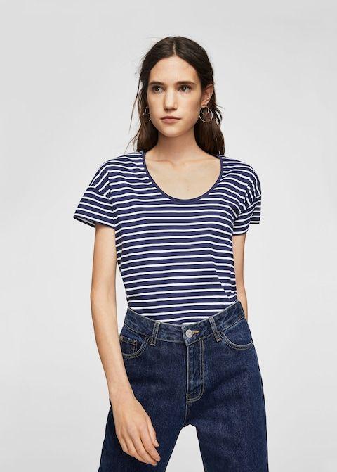 7805ed48763 T-shirt coton bio - Femme