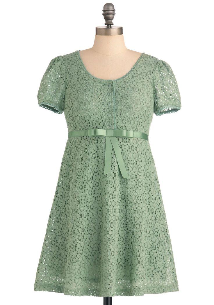 Dreams of You Dress in Sage | Mod Retro Vintage Dresses | ModCloth.com