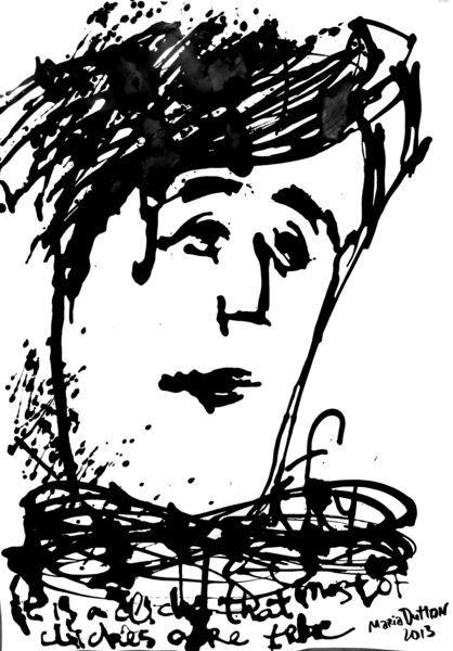 Stepen Fry - Paper, ink.