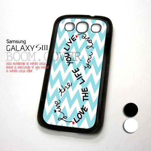 Love Life Infinity design for Samsung Galaxy S3 Case