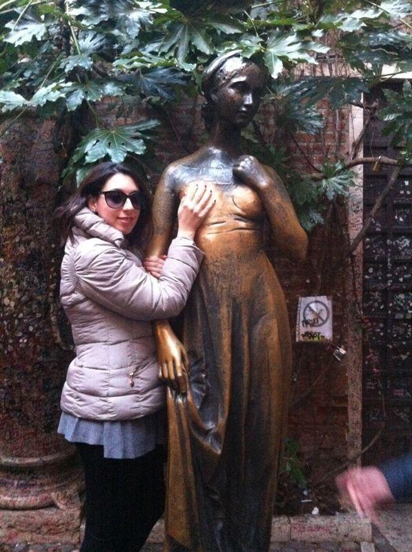 Casa di Giulietta a Verona!!!
