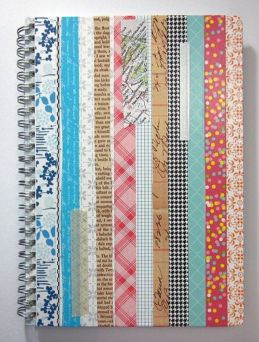 my version of oh, hello friend, danni's washi tape notebook. mine is a planner.