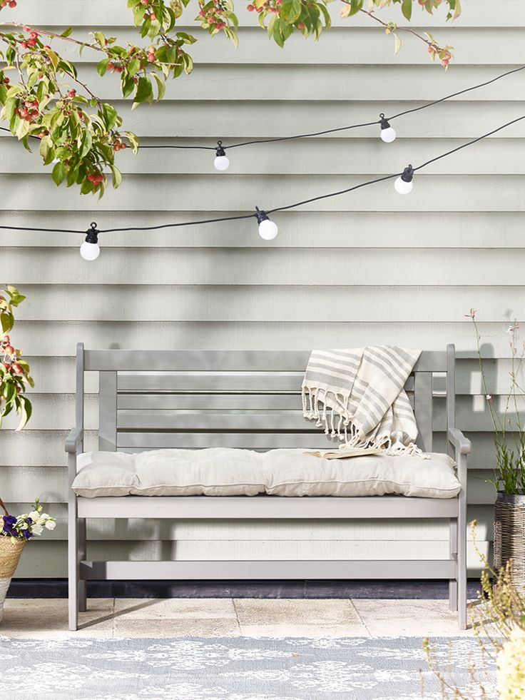 17 Best Ideas About Garden Bench Cushions On Pinterest