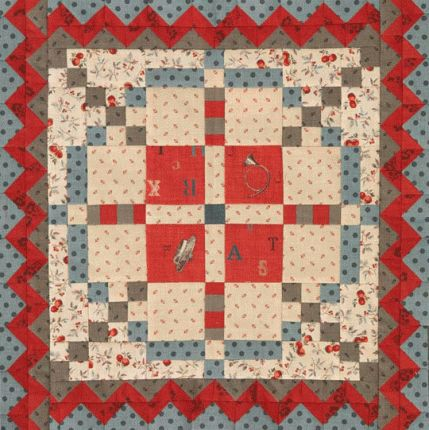 Patterns for Small Quilts | AllPeopleQuilt.com  French Gen collection