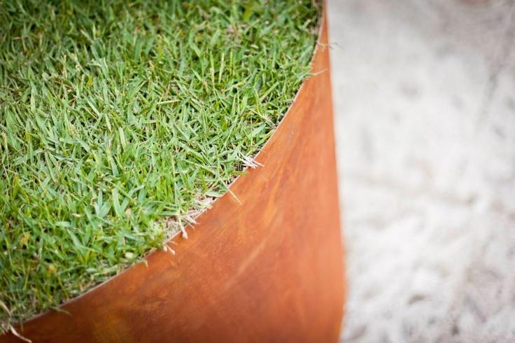 Cor Ten Detail for #garden Design