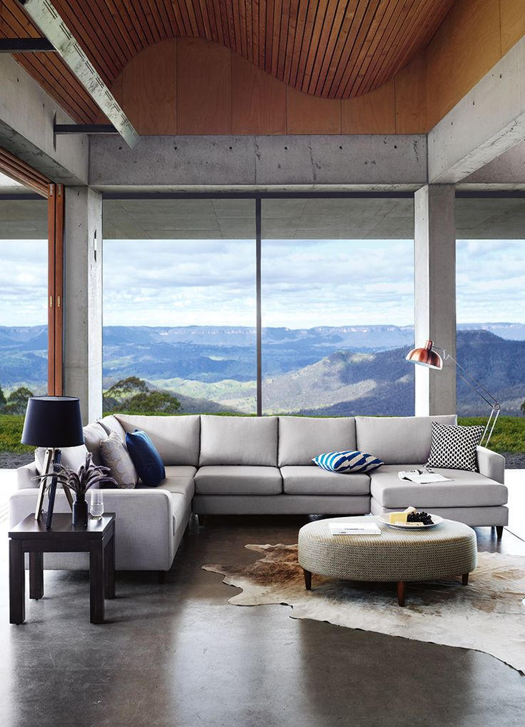 From the Domayne furniture website  but it s the windows and ceiling  height material that I actually like. 17 Best images about furniture on Pinterest   Entertainment units