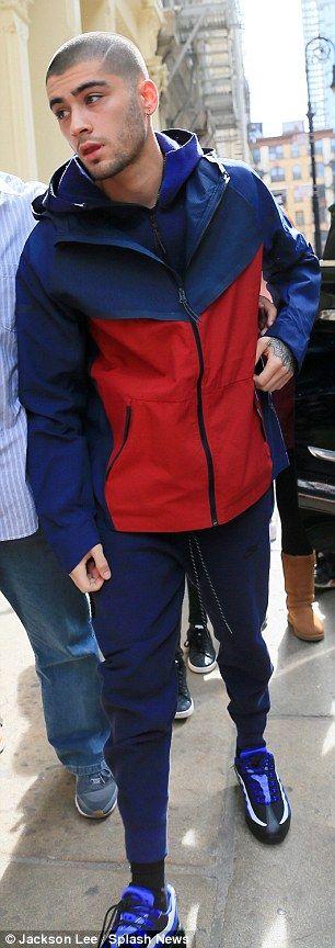Weary Zayn Malik cuts a glum figure during NYC trip