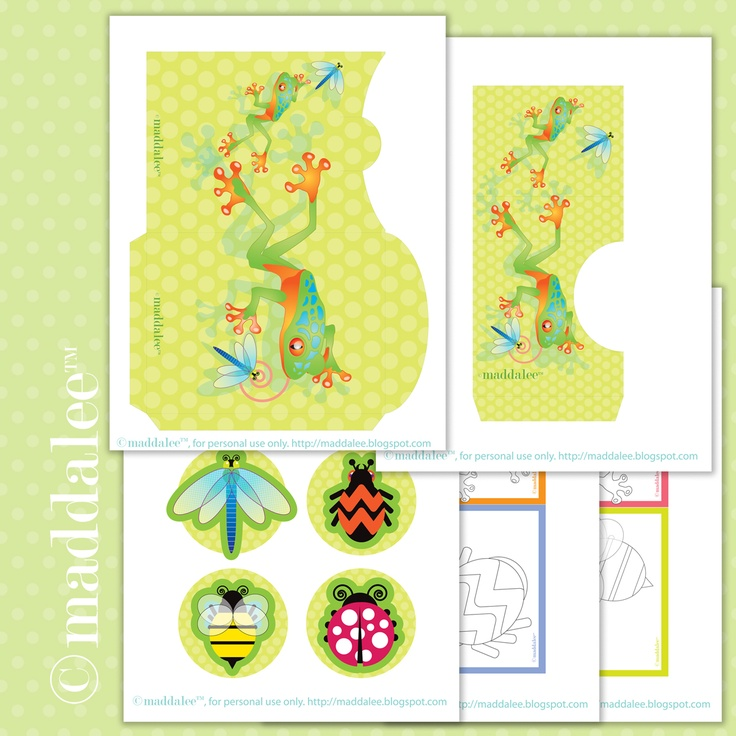 photo paper craft ideas free 5 page printable loads of toads amp frogs 5158