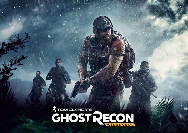 Tom Clancy's Ghost Recon Wildlands Poster
