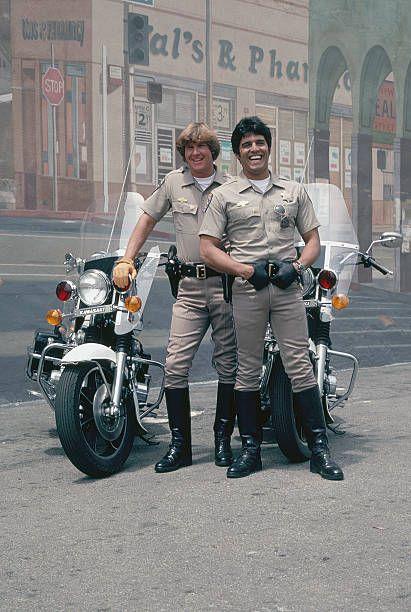 Larry Wilcox as Officer Jon Baker Erik Estrada as Officer Francis Llewellyn 'Ponch' Poncherello