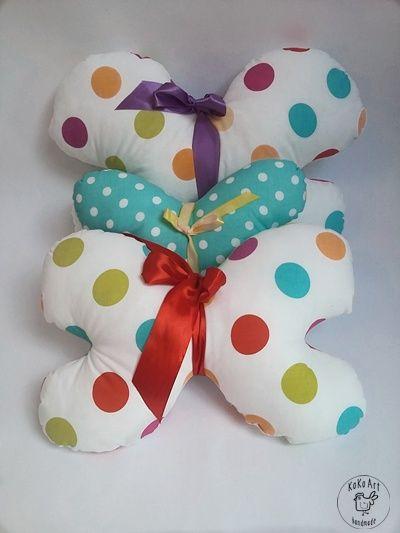 butterflies pillow  #butterflies #pillow #cushion #handmade #handmadedecoc #kokoart #kidsroom #cotton