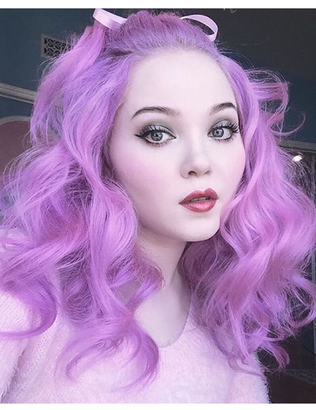 fantasy hair color- fantasy hair color pastel- fantasy hair color ombre- purple hair