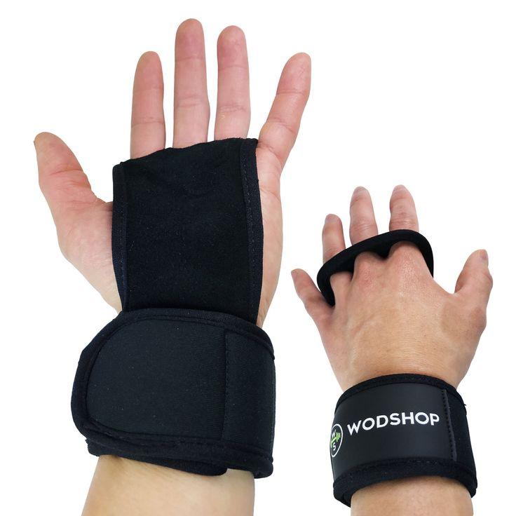 WODshop.com - WODshop PR3 Pull Up Fitness Grips -  Wrist Wrap Hand Grips, $19.97 (http://www.wodshop.com/wodshop-pr3-pull-up-fitness-grips-wrist-wrap-hand-grips/)