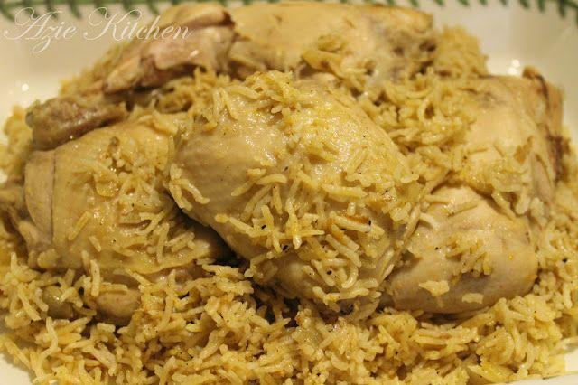 Azie Kitchen Nasi Kabsah Ayam Resep Makanan Makanan Makanan Dan Minuman