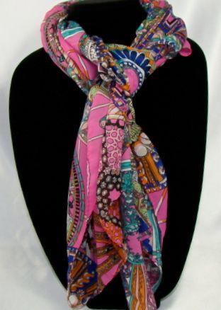 Comfortable Women's floral prints soft shawl, 163cmx53cm long scarf, Material: 100% Chiffon Silk scarf. #C119