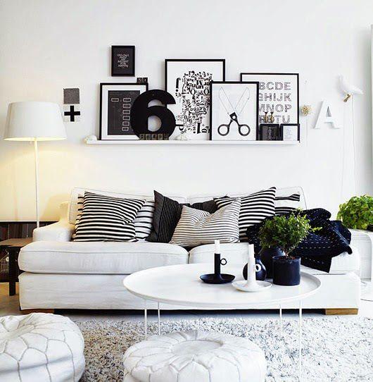 DECO IDEAS CON PÓSTERS. Cuadros apoyados en estanterías. #poster #lamina #cuadro #decoration #decoracion