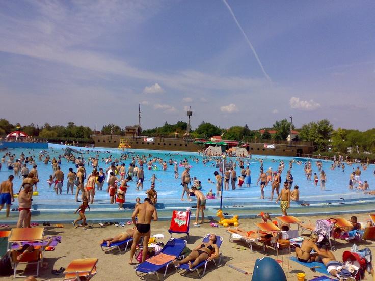 Hungarospa mediterranean beach in Hajdúszoboszló! http://uk.hungarospa.hu/   #Hajduszoboszlo #wellness #hotel #gyogyszalloda #hungary