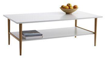 Doh nyz asztal risskov 70x130 t lgy feh jysk living for Sofa table jysk