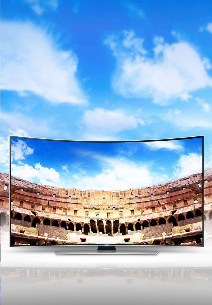Samsung Smart TV Curved UHD