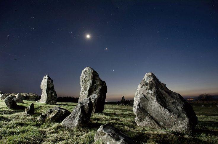 Beaghmore stone circles, Tyrone, Ireland | Photo by Ken Williams