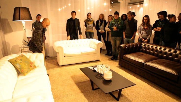 co-creation of divanoxmanagua sofa - Meda, Brianza (Italy) 31-01-2013