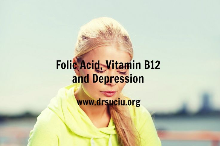 Picture drsuciu Folic acid, vitamin B12 and depression