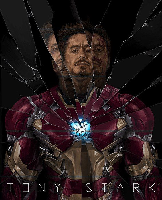 Tony Stark-Iron Man.........