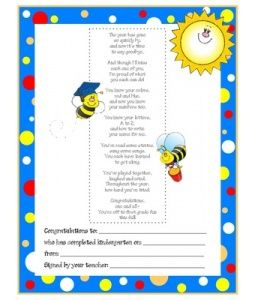 best graduation poems 144 best images about end of year kindergarten on 5674
