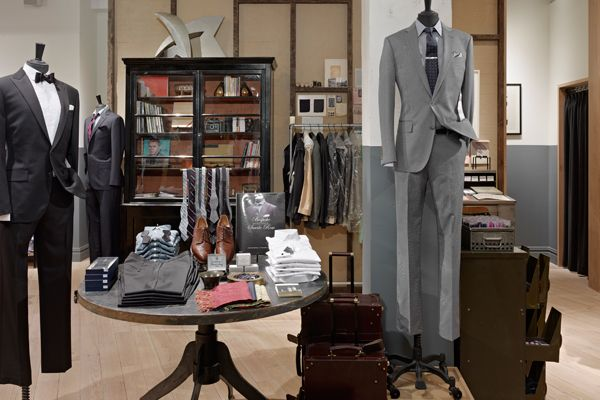 J. Crew Opens Suit Shop in Tribeca | Suit shops and Sharp dressed man