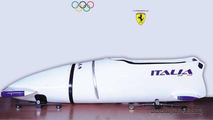 Bob de Ferrari para Italia para los Juegos Olímpicos de 2014
