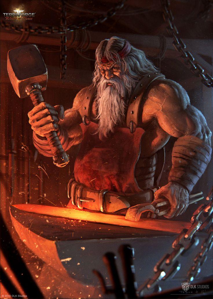 Able Blacksmith, Todor Hristov on ArtStation at https://www.artstation.com/artwork/able-blacksmith